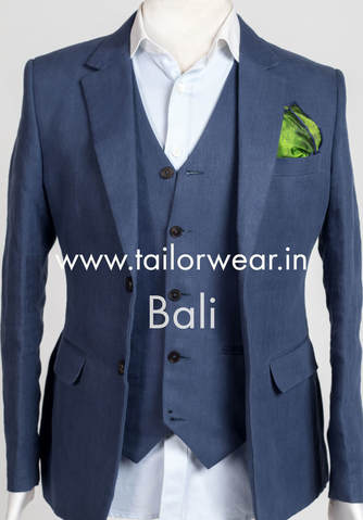 Tailored Linen Suit