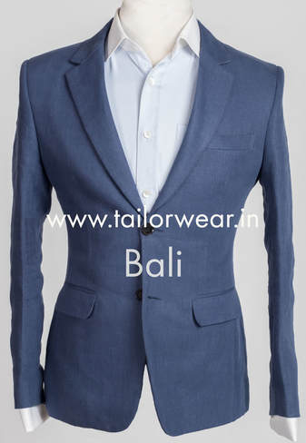 Tailored Linen Coat
