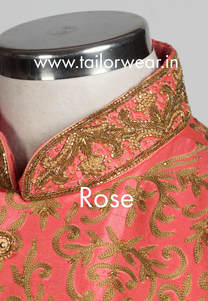 Tailored Sherwani with Embroidery