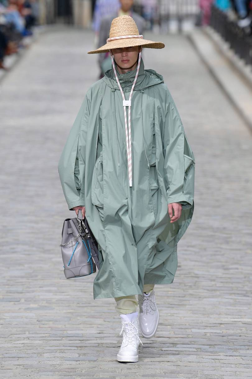 Spring Summer 20 Menswear Louis Vuitton in Neo Mint Color