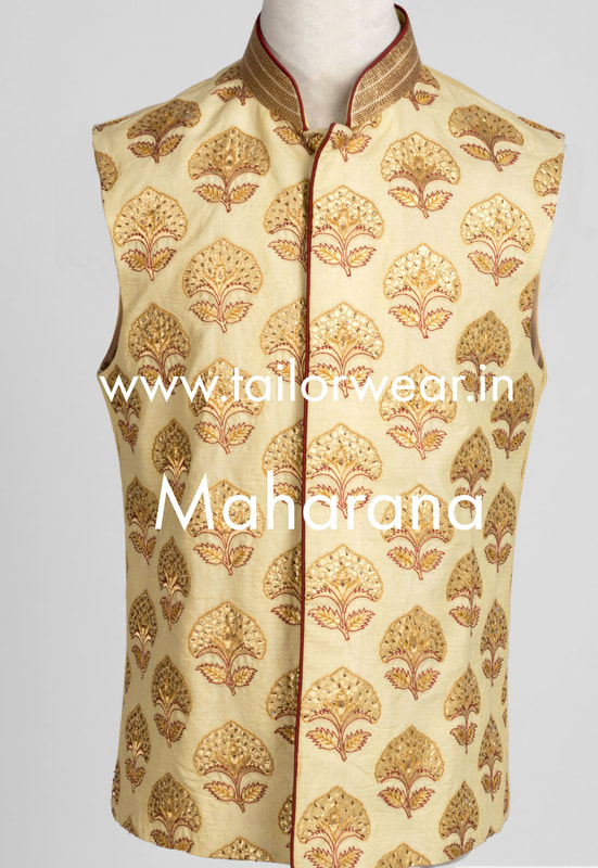 Tailored Modi Jacket in Silk
