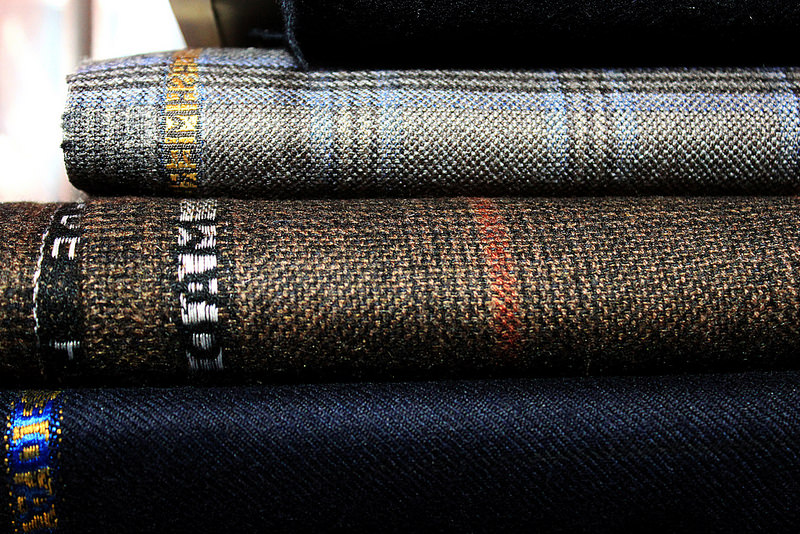 Suiting Material Selvedge