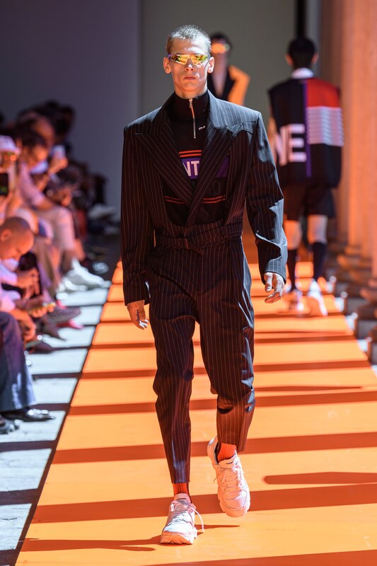 Spring Summer 20 Menswear, Les Hommes, Pleated Trousers