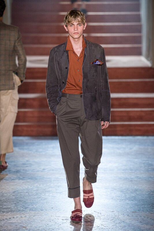 Spring Summer 20 Menswear, Pal Zileri, Pleated Trousers