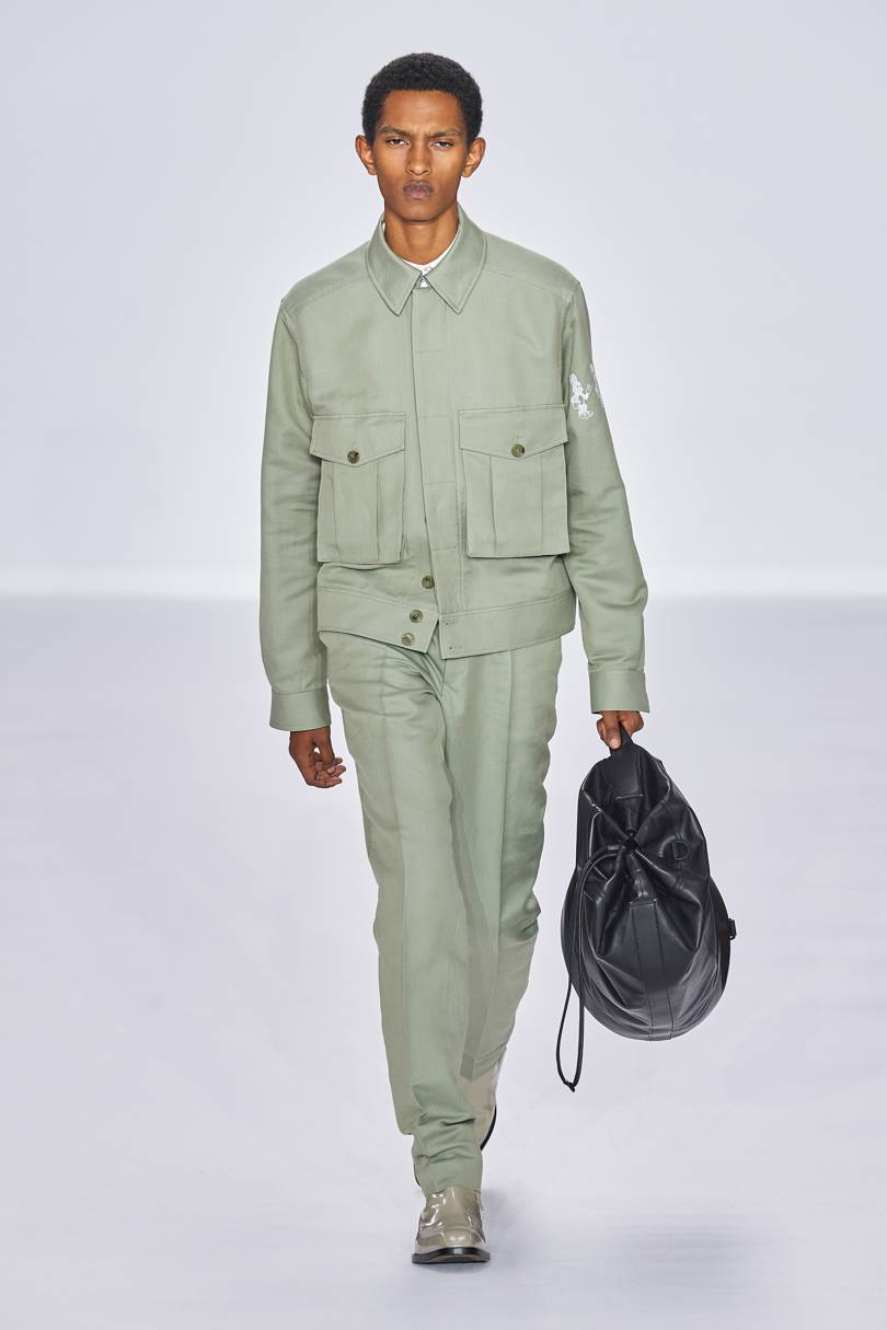 Spring Summer 20 Menswear Paul Smith in Neo Mint Color