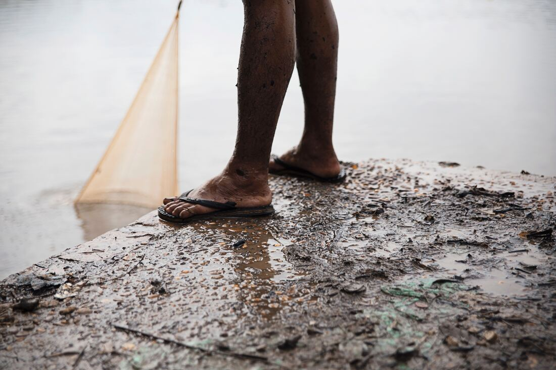 Say No to flip flops during the rains, if you want keep your trousers clean